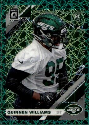 Quinnen Williams Novato 2019 Jets Donruss