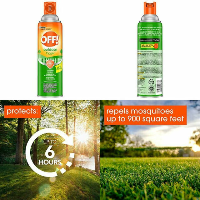 OFF! Outdoor Insect & Mosquito Repellent Fogger, Kills ...