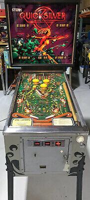 1980 Stern Quicksilver pinball super kit