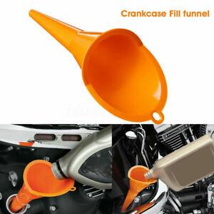 Crankcase-Fill-Funnel-Primary-Case-Oil-Fill-Drip-Free-For-Motorraeder-Funnel-X6M0