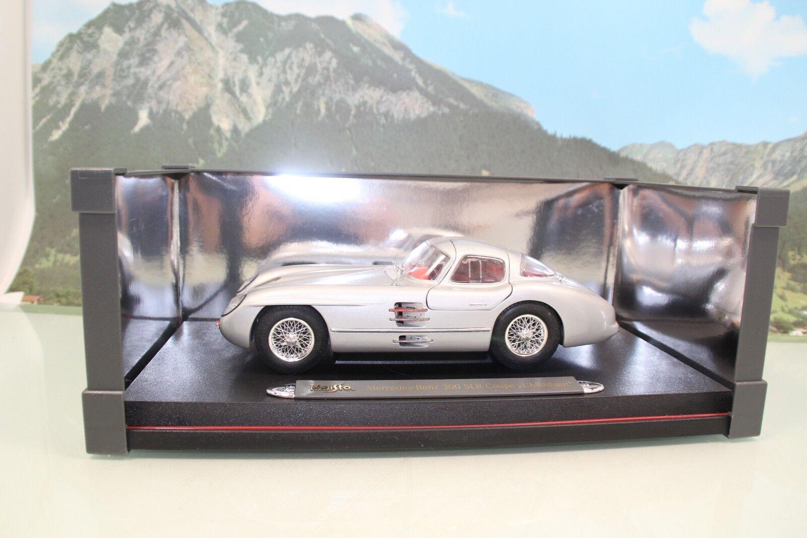 Maisto 536898 1 18 Mercedes-Benz 300 SLR coupr  Uhlenhaut  neuf dans sa boîte (b499)