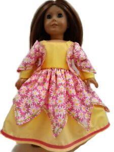 Daisy-Party-Dress-fits-American-Girl-18-034-doll-clothes-Easter-Dress