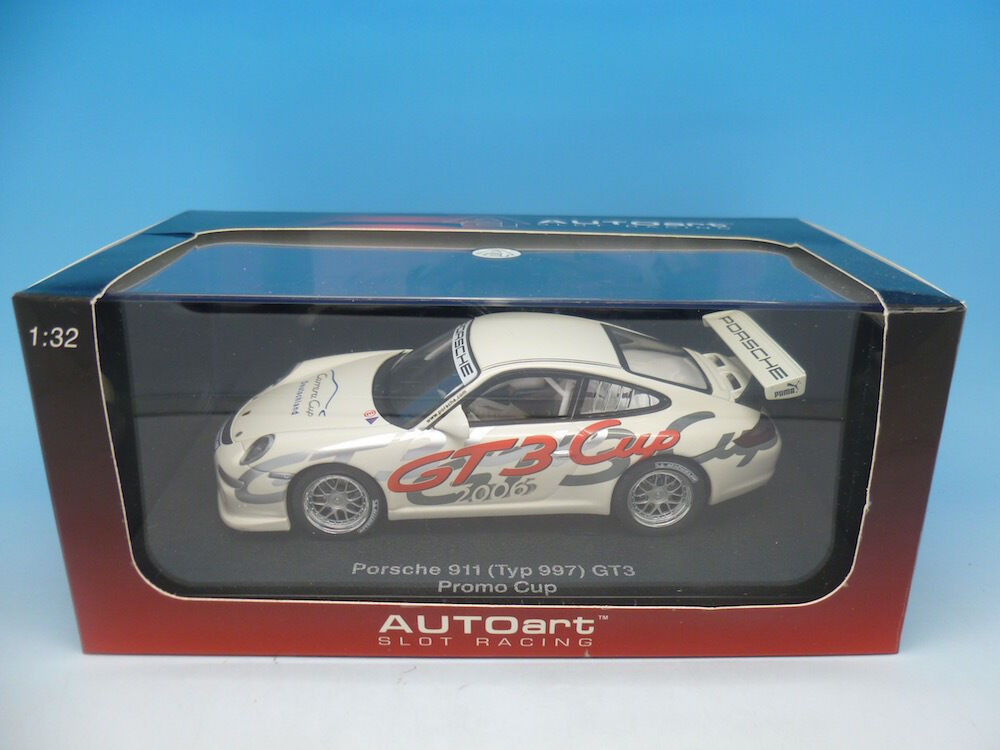 Autoart Porsche 911 GT3 Promo Cup, mint boxed unused