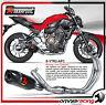 Akrapovic S-Y7R2-AFC - Yamaha FZ-07 / MT-07 Impianto di Scarico Completo Carbon