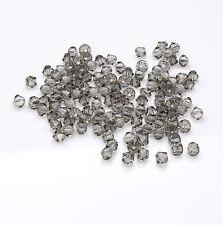 20 x Swarovski 5328 Xilion Black Diamond 6mm Bicone Bead