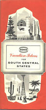"1962 Sohio ""Vacation Ideas"" for South Central States Travel Booklet"