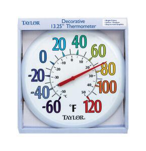 Taylor-Decorative-Dial-Thermometer-Plastic-Multicolored