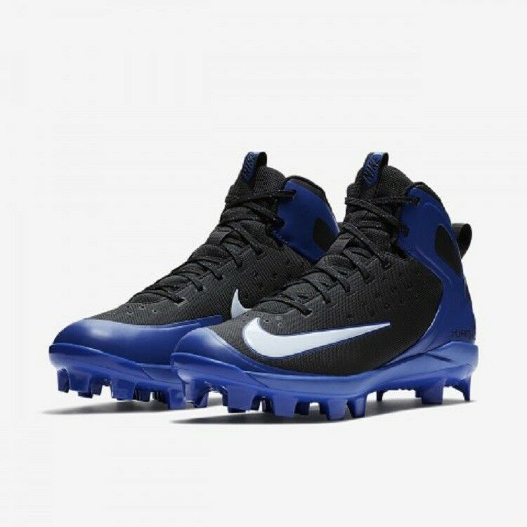 Comfortable and good-looking NIKE ALPHA HUARACHE PRO MID MCS MEN'S FOOTBALL CLEATS Price reduction