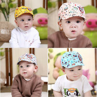 Baby Boys Girls Sun Hat Kids Childrens Hat Owl Baseball Beret Cap Summer Sun Cap