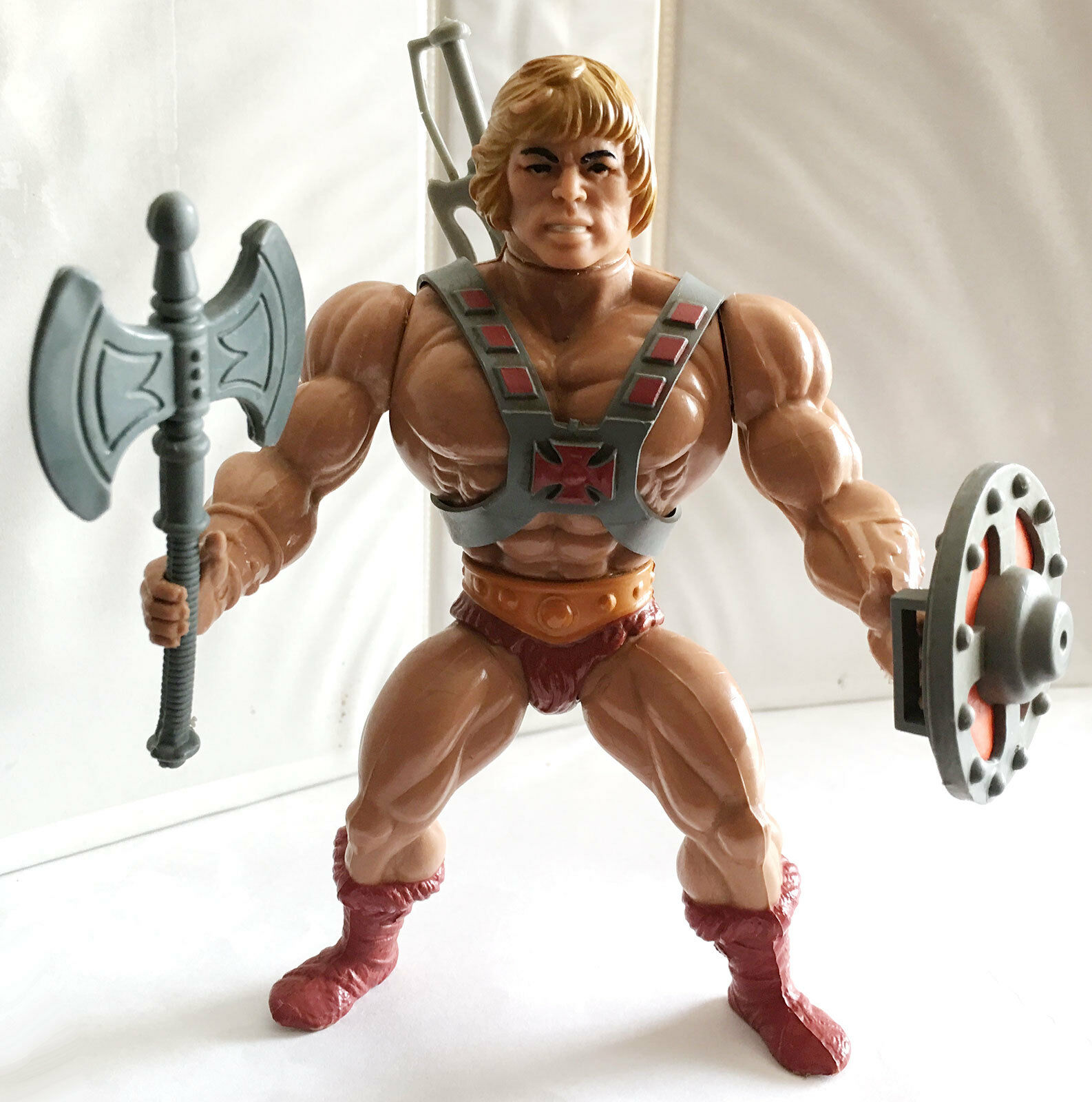 HE-MAN  2 • C8-9 • 100% COMPLETE • VINTAGE MASTERS OF THE UNIVERSE