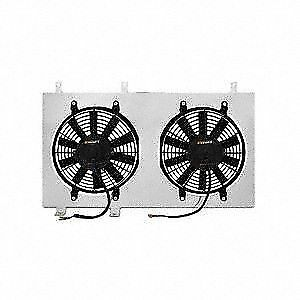 Mishimoto MMFS-MUS-79 Ford Mustang Performance Aluminum Radiator Fan Shroud Kit 1979-1993 Silver