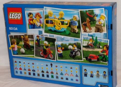 MISP 60134 LEGO FUN IN THE PARK City People Pack 15 minifigures 157pc set RETIRE