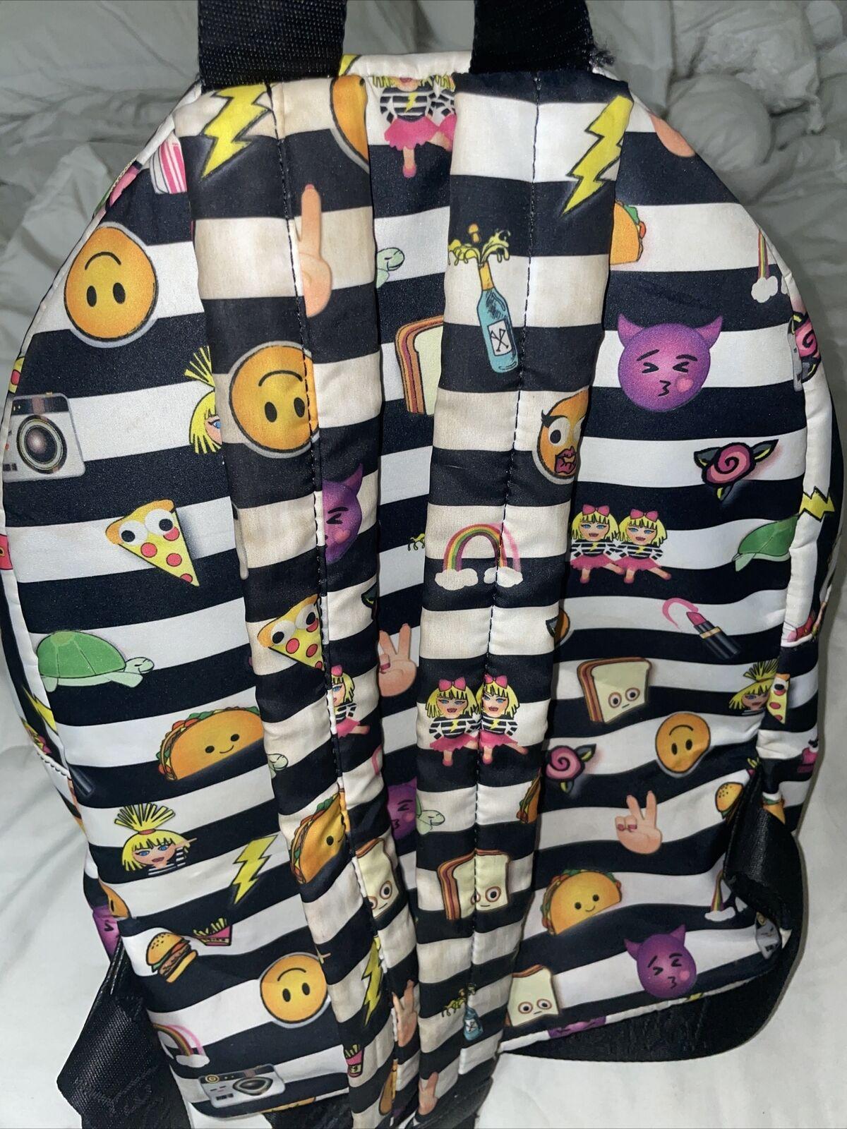 Beautiful Betsey Johnson Rocknroll Backpack - image 3
