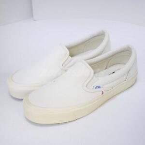 27857aa5e9 Vans OG Classic Slip-On Vault Left Foot With Discoloration Men Shoes ...
