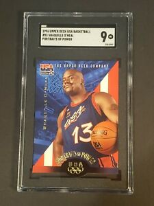 1995-96-Upper-Deck-USA-Shaquille-O-039-Neal-SGC-9-Newly-Graded-PSA-BGS