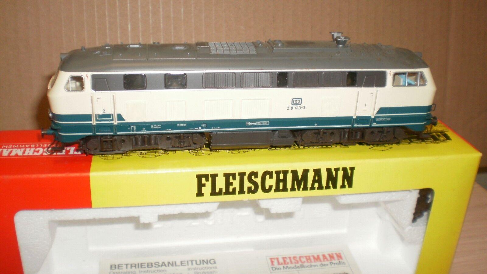 Loco diesel BR 218 413-3 DB Fleischmann