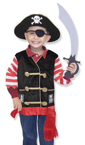Melissa /& Doug Pirate Role Play Costume Set #4848 New Sealed