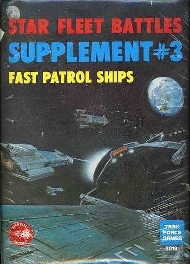Star Fleet Battles Suplemento rápido barcos patrulla sellado módulo de Star Trek