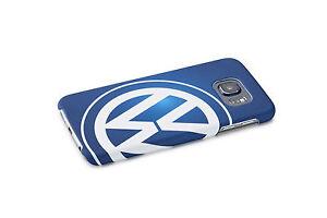 Original-VW-Samsung-Galaxy-S6-Cover-Schutzhulle-Blau-Weis-000051708F-274-NEU