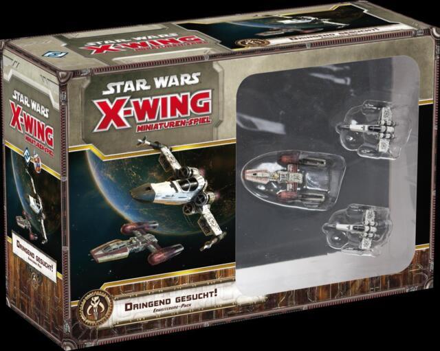 Star Wars X-Wing: Dringend gesucht! - Erweiterungspack (Deutsch) - Neu/OVP