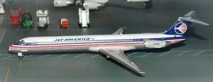 Jet-X-JX076-Jet-America-McDonnell-Douglas-MD-82-N1004N-Diecast-1-400-Model-New