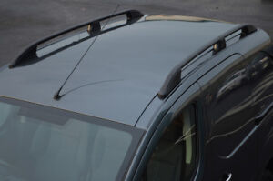2014+ Black Aluminium Roof Rack Rails Side Bars Set To Fit L1H1 Trafic