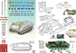 Phoenix-Model-1-35-PX351-ROC-Army-CM21-Conversions-for-M113A2-Taiwan-Army