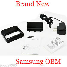 New OEM SAMSUNG Galaxy Note Multimedia Desktop Dock EDD-D1G8BE with Charger