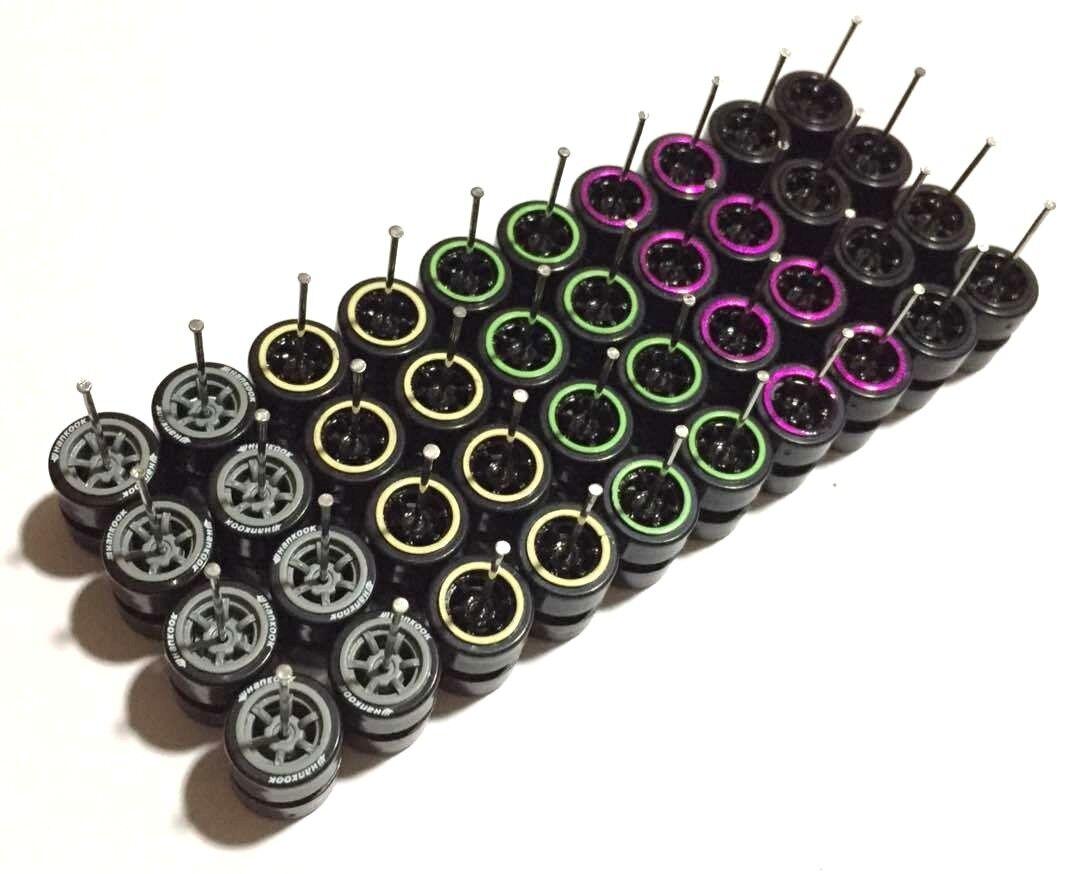 Ahorre 60% de descuento y envío rápido a todo el mundo. 1:64 1:64 1:64 Borde de plástico Neumáticos comold Mix-Fit Hot Wheels MXB Diecast-Lote de 20 - 204  distribución global