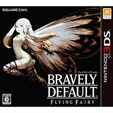 Bravely Default Game For Nintendo 3DS Cartridge And Box Tested Square Enix USED