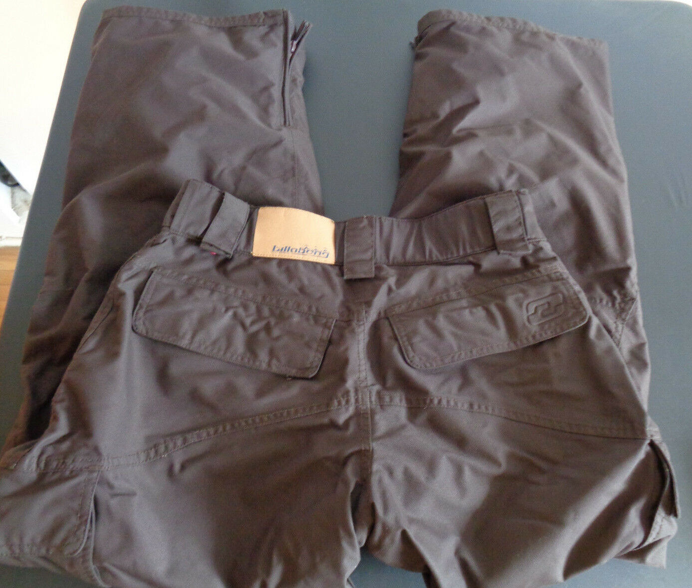 Billabong Cold Weather Snowboarding Ski Outerwear 034 Pants Size Small Brown