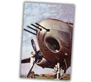 "16x24 ""B-25 Mitchell Bomber 1943 Vintage Style WW2 War Poster"