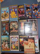 PACK DE 11 VHS + 1 DVD DOCUMENTAL FAHRENHEIT 911 + UMD HANCOCK