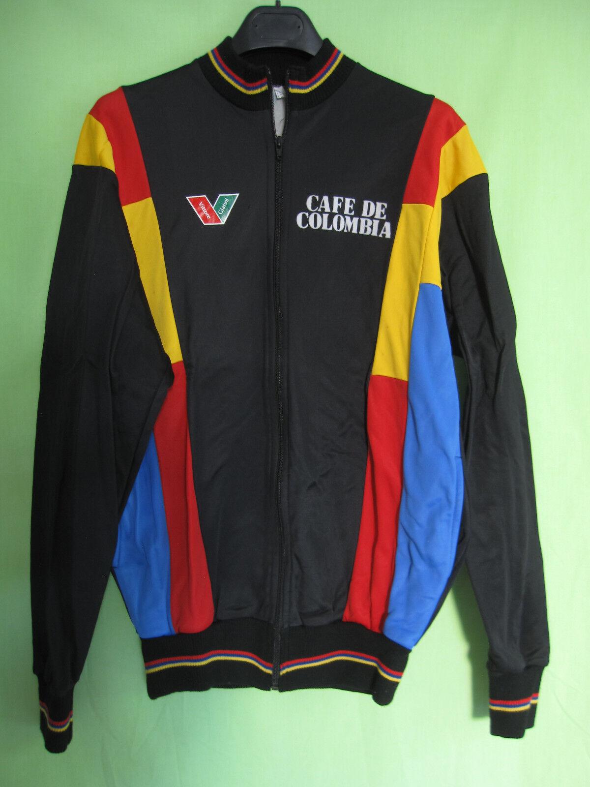 Veste cycliste Hiver  Cafe Colombia Team jacket Vittore Gianni Vintage - 4   L  tienda en linea