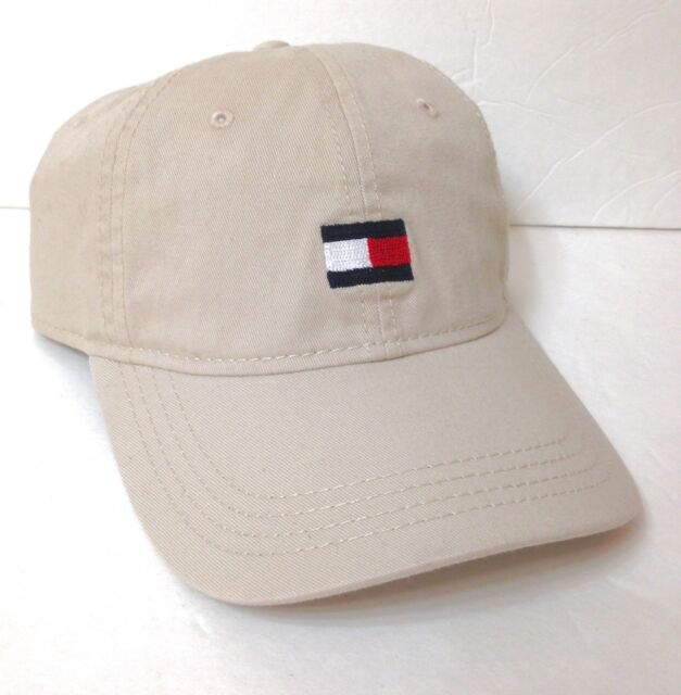e6aec644 New $26 TOMMY HILFIGER HAT Relaxed Fit Unstructured Dad Khaki Simple Men /Women