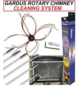 GARDUS-SootEater-Rotary-Chimney-Cleaning-System-RCH205-BRAND-NEW