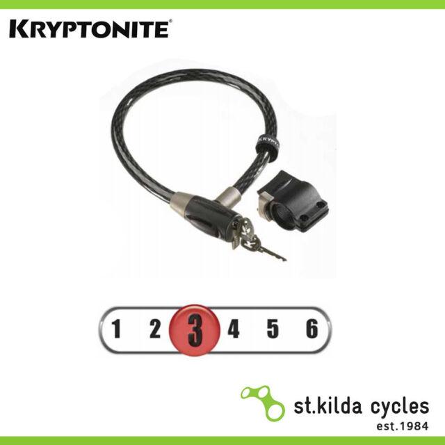 Kryptonite antitheft kryptoflex looped cable diameter 10mm length 220cm