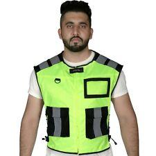 High Visibility Safety Vest Hi Vis Reflective Jacket Construction Pocket Zipper