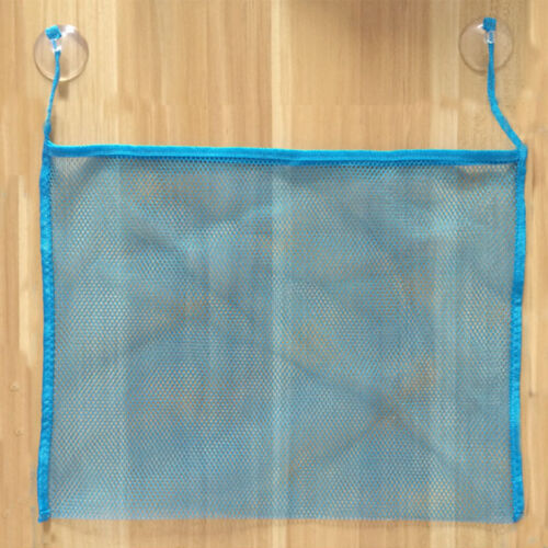 Bath Toy Mesh Net Storage Bag Organizer Holder Suction Cup Style Baby Toddler