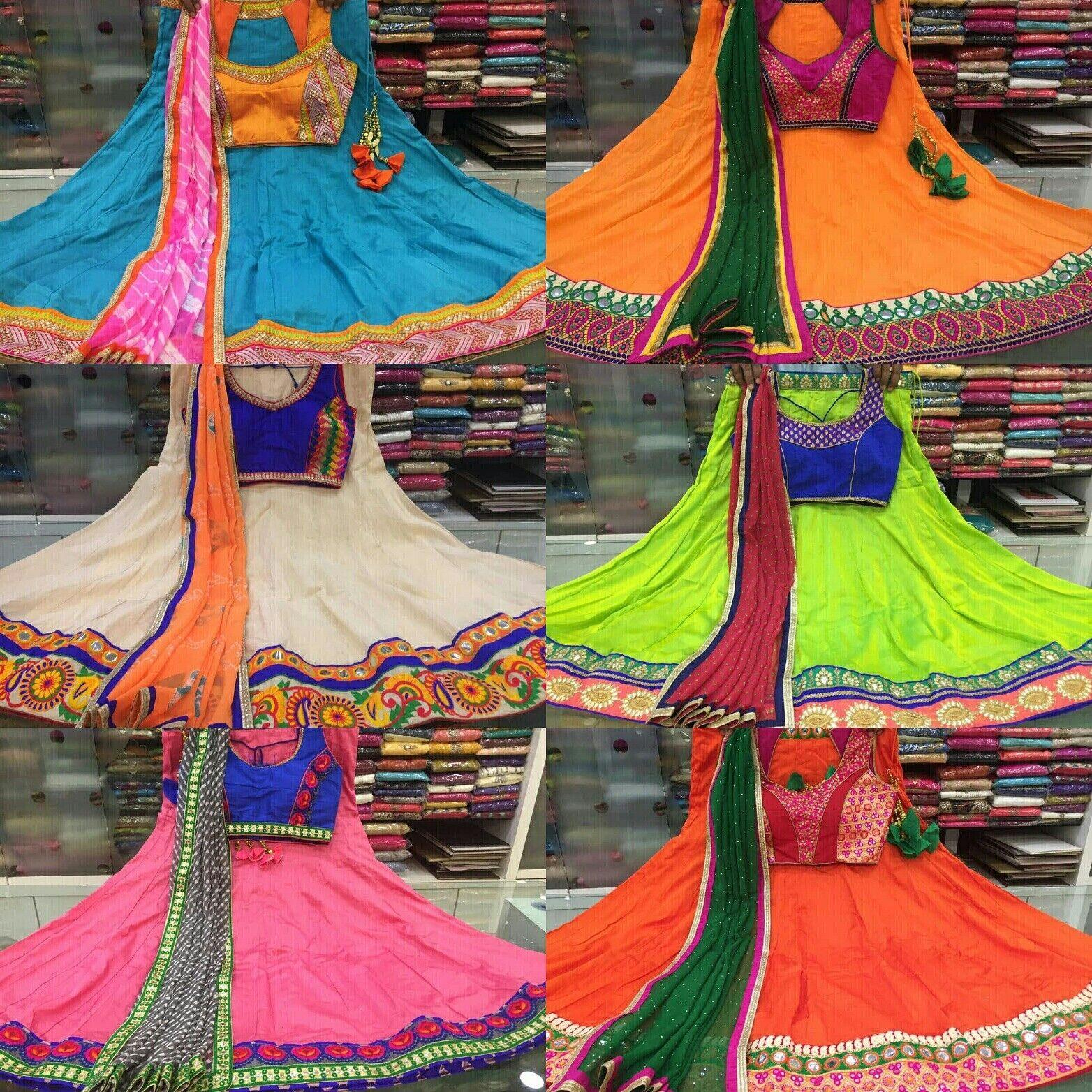 Indian Bollywod Designer fully stitched salwar kameez dress Lehenga Choli 10,12