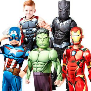 Image is loading Deluxe-Avengers-Infinity-War-Boys-Fancy-Dress-Superhero-  sc 1 st  eBay & Deluxe Avengers Infinity War Boys Fancy Dress Superhero Kids ...