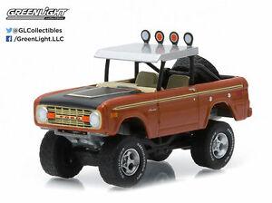 1/64 GREENLIGHT All-Terrain Series 1 1972 Ford Bronco Custom Copper Meta