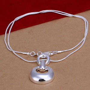 New-Wholesale-925-Sterling-Silver-Filled-Solid-Fashion-Hoof-Necklace-Chain