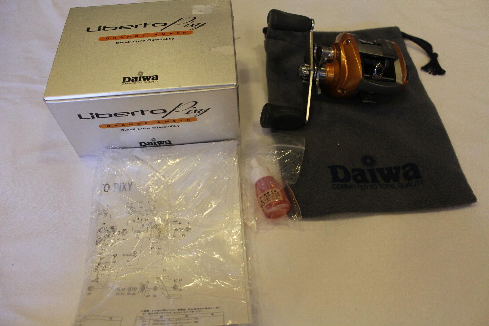 DAIWA   LIBERTO PIXY- orange AMBER -MADE IN JAPAN-Nr 229  best offer