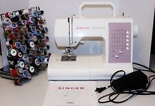 $299 SINGER Confidence 7463 Sewing Machine 30 Stitch BONUS Thread Spool Lot