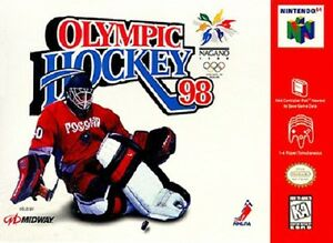 Olympic Hockey 98 N64 Great Condition Fast Shipping
