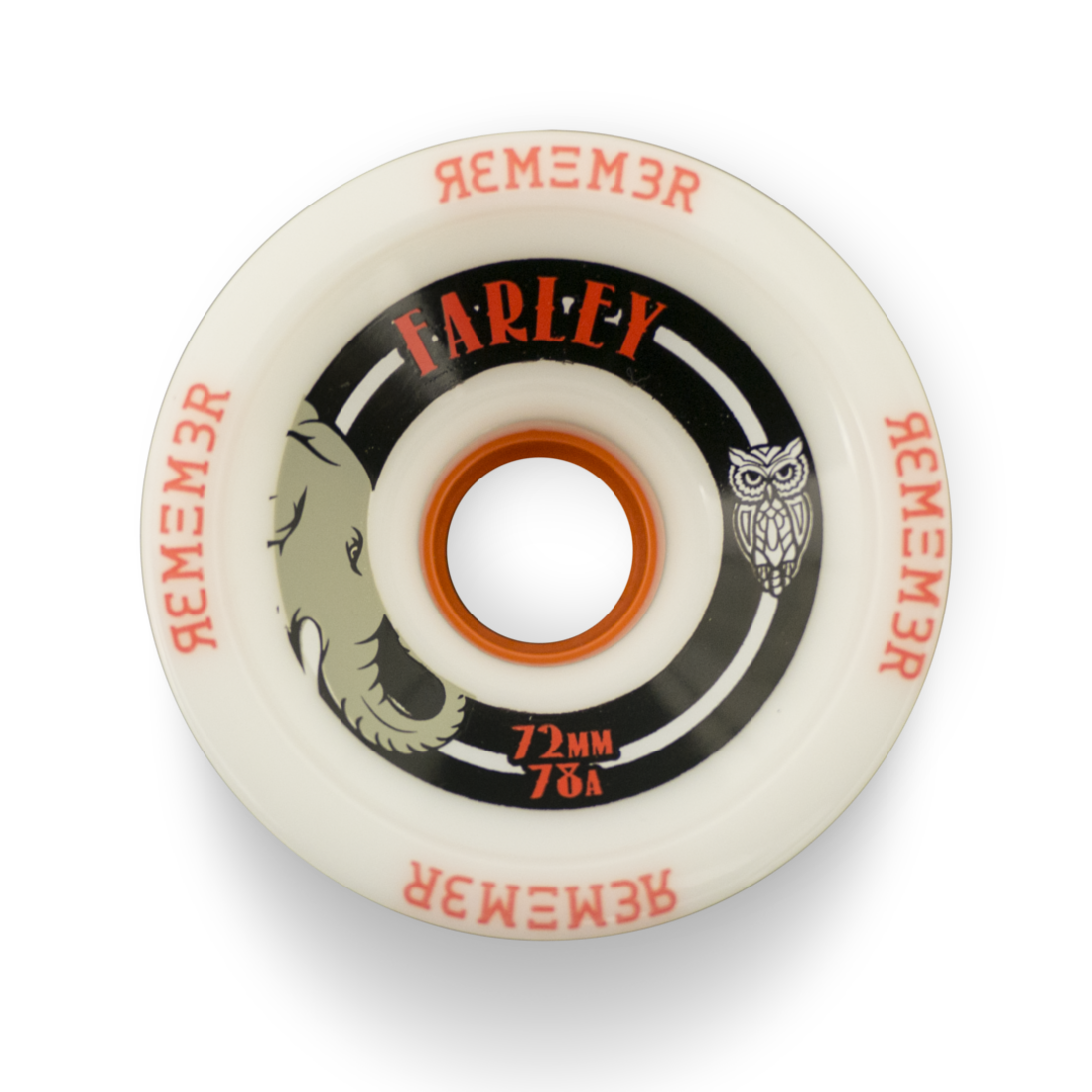 Remember Farley Farley Farley Wheels Longboard Rollen 72mm 74a 78a 8e09d1
