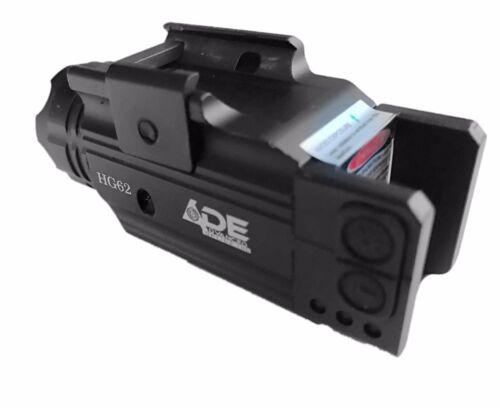 HG62 Pistol Green Laser+Flashlight Fits All Full size hand gun some sub-compact