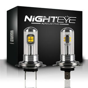 nighteye led h7 80w nebel licht birne lampe. Black Bedroom Furniture Sets. Home Design Ideas