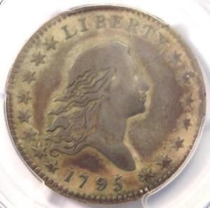 1795 Flowing Hair Bust Half Dollar 50C O-102 - PCGS VF Detail - Rare Coin!